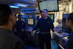 160518-N-EH218-139 (U.S. Pacific Fleet) Tags: ocean usa pacific mob pacificocean cruiser underway deployment 2016 ussmobilebay cg53 7thfleet