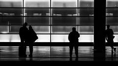 The nameless (connymarkert) Tags: bw berlin subway streetphotography potsdamerplatz