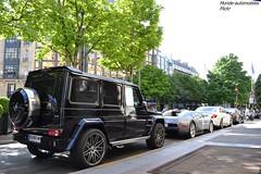 Infernal !!! (Monde-Auto Passion Photos) Tags: auto paris france mercedes automobile noir 4x4 rocket bugatti blanc berline coup classe amg veyron brabus grise