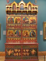 The Great Bookcase 2 (pefkosmad) Tags: thegreatbookcase bookcase books preraphaelite oxford oxfordshire oxon ashmoleanmuseum museum exhibit england uk williamburges