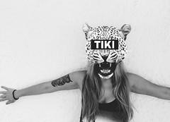 #blackandwhite #black #white #girl #tattoo #animal #me (Estibaliz Alegre) Tags: animal blackandwhite girl me tattoo white black