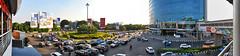 Bundaran Kelapa Gading (BxHxTxCx) Tags: street city skyline jakarta jalan kota cakrawala