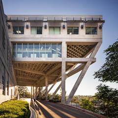 Learning Resource Center (Chimay Bleue) Tags: learning resource center mesa college brutalism brutalist design architecture architect modernism modernist mcm san diego linda vista