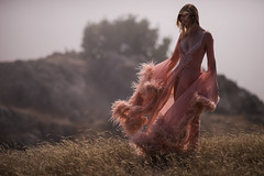 In the Fog and Wind (Randy Wentzel Photography) Tags: randywentzelphotography wentzelphotocom northerncalifornia fashion editorial features model sheer fog wind late summer