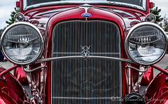 1930's Ford Custom (Chris Parmeter Photography (smokinman88)) Tags: car vintage ford classic custom grill color chrome shine reflection lights red nikon d500 28300mm