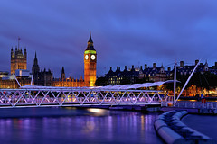 Big Ben (Rebecca Ang) Tags: london uk bigben housesofparliament riverthames thames clocktower twilight night bluehour thebluehour city cityscape urban architecture rebeccaang