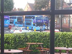 Bus Jam_Earlsdon Avenue North_Earlsdon_Coventry_Sep16 (Ian Halsey) Tags: coventrybus nationalexpresscoventry waitingforabus earlsdonavenuenorth coventryservice11 geotagged imagesgooglecom flickr:user=ianhalsey flickriver exif:model=samsunggalaxys5 location:coventry=earlsdon whereismybus coventrybusservices