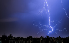 Blue cobweb (Ruby MV) Tags: storm nigth nite rays electric lightning