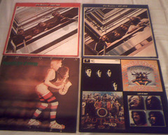1970's record albums : (Retro King) Tags: 1973 beatles vinyl record albums lps 1976 pop rock british 1978 rutles covers music 1970s