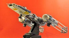Y-wing - Landing gear (dmaclego) Tags: lego star wars fighter a new hope rebel spaceship