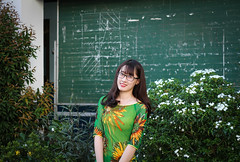 Hoai Truc (phantoanhvi095) Tags: girl pretty hoai truc ho chi minh pedagogy education thpt nguyen an ninh canon 7d 50 18