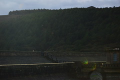 ladybower flares (polly.derrig) Tags: ladybower resevoir derbyshire sun trees forest england bouncing bomb