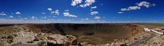 Meteor Crater Panorama (Nicolas) Tags: usa arizona meteorcrater window view panorama holidays america landscape nicolasthomas paysage vacances vue amrique sky ciel cloud nuage horizon panoramic panoramique large