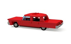1964 Chevrolet Impala 4-Door Sedan (MOCs & Stuff) Tags: city chevrolet sport sedan lego air convertible super impala bel coupe 1964 biscayne er0l