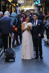 01 MAY 15 23C MELBOURNE  - 01 (oh.yes.melbourne) Tags: groom bride australia melbourne victoria lane laneway centreplace