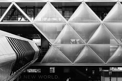 New World (McTumshie) Tags: england london station unitedkingdom canarywharf londonist crossrail 2may2015 crossrailplace
