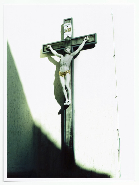 Jesus Cross Processed - Wet Print