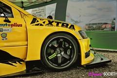 Mitsubishi Lancer Evolution (byswix) Tags: race honda golf subaru bmw works civic gti audi rims drama society wrx s2k s2000 e30 evo forester stance xtra mk1 stancenation wangans