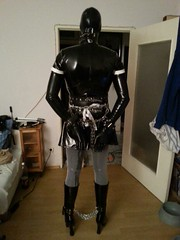 IMG-20140209-WA0003 (bondagefanberlin) Tags: highheels bondage bdsm latex maid crossdresser lack