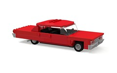 1964 Chevrolet Impala Sport Sedan (MOCs & Stuff) Tags: city chevrolet sport sedan lego air convertible super impala bel coupe 1964 biscayne er0l