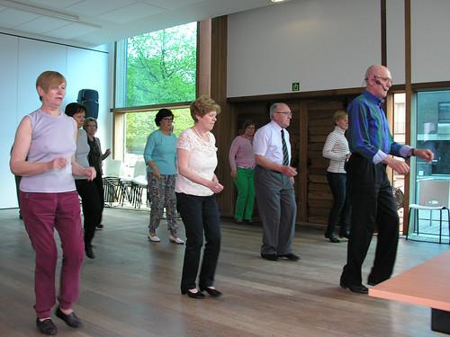 Line dance in Zonneheem - 7 mei 2015