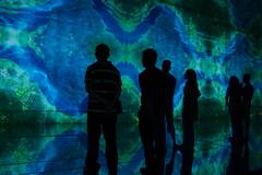 Museo della Scienza (Raissa Fitzgerald Photographer) Tags: blue blu space luna terra astratto azzurro colori spazio