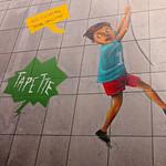 Bruxelles - fresque murale  LGBTQI _ photo J.P.Remy thumbnail