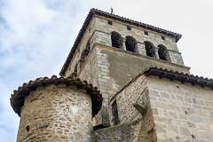 Le prieur - Clocher de l'glise (yann.dimauro) Tags: france chateau fr rhone moyenge moyen ge rhnealpes prieur taluyers