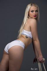 Anniina (Anssi Lauri Photography) Tags: fashion studio model photoshoot underwear jeans calvinklein blondgirl farkut alusasu anssilauriphotography anniinakangas