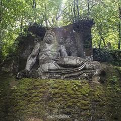 Nettuno  al Sacro Bosco di  Bomarzo (maresaDOs) Tags: italy parco statue italia viterbo giardino bomarzo mostri parcodeimostri