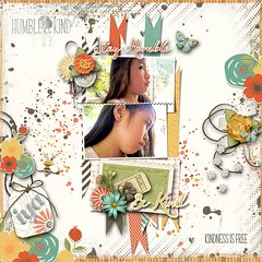 Be Humble Be Kind (scrapper0071) Tags: inspirations templates digitalscrapbook