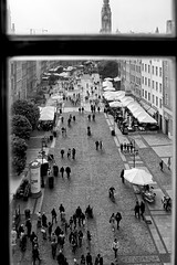 Through the window (JarHTC) Tags: street city people bw window monochrome sigma foveon dp1s