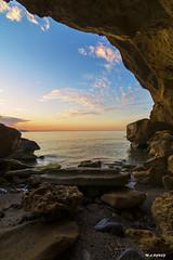 window at dawn (jopas2800) Tags: sea clouds dawn rocks mediterrneo tokina1628 nikond610