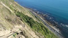 Paekakariki to Pukerua Bay New Zealand Escarpment walk (spiceontour) Tags: walkway tasmansea escarpment porirua paekakariki 2016 pukeruabay shno1
