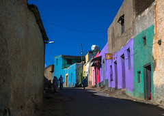 Multicoloured houses in the old town, Harari region, Harar, Ethiopia (Eric Lafforgue) Tags: africa street travel people house color building men heritage home horizontal wall architecture outdoors photography town ancient women colorful day islam vivid multicoloured unescoworldheritagesite journey colored ethiopia oldtown groupofpeople tranquil multicolor hornofafrica harrar eastafrica vibrantcolor harar abyssinia famousplace ruralscene buildingexterior harari oromo traveldestination harer builtstructure harariregion hararjugol harergeprovince harergey ethio162961