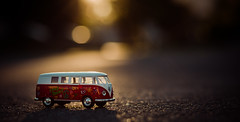 morning journey - 134/366 (auntneecey) Tags: toy vwbus day134366 13may16 366the2016edition 3662016