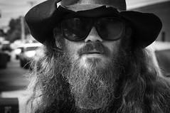 Olan (hutchphotography2020) Tags: sunglasses beard nikon streetportrait cowboyhat hutchphotography2020