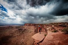Lost Dreamer (ygchan) Tags: storm me clouds utah nationalpark hiking canyonlands adventures lostdreamer