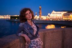 Sabina (k0ntiki) Tags: portrait lowlight pretty russia bokeh feminine bynight saintpetersburg