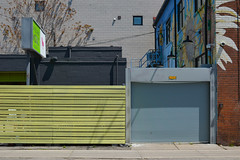 Urban Mode 2 (L_) Tags: toronto architecture fence garage commercial