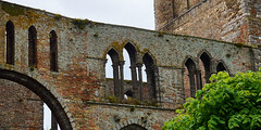 Church walls in Damme (wellingtonandsqueak) Tags: church belgium c1 damme