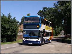 18406, Crick (Jason 87030) Tags: school bus northamptonshire july 400 roadside dennis northants alx stagecoach doubledecker crick trident vilage 2016 18406 kx06jxt
