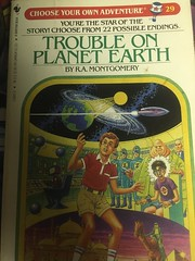 trouble on planet earth (timp37) Tags: book choose your own adventure trouble planet earth 29