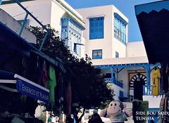 Cambridge English Monkey Travelling the World - Sidi Bou Said, Tunisia (Cambridge English, East Asia) Tags: cambridge english monkey travelling world sidi bou said