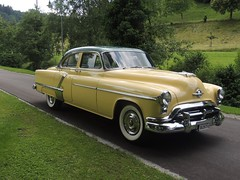 1952 Oldsmobile 98 DeLuxe 4-Door Sedan (Hipo 50's Maniac) Tags: 1952 oldsmobile 98 deluxe 4door sedan