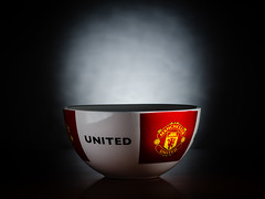 MUFC (Pekko Ahlsten) Tags: nikon nikond7000 ireland dublin stilllife productphotography product manchesterunited mufc bowl nikkor nikkor85mm18d sb910 sb700 pocketwizard cool colours red football