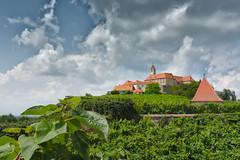 Riegersburg (m#p) Tags: riegersburg steiermark sdsteiermark wolken clouds castle burg sterreich austria blau green blue grn wein trauben bltter styria rx100 sony
