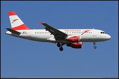 AIRBUS A319 112 Austrian OE-LDC 2262 Frankfurt aout 2016 (paulschaller67) Tags: airbus a319 112 austrian oeldc 2262 frankfurt aout 2016