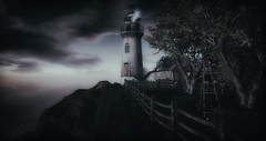 Venta Silurum - The Light House (VeRaCruZa) Tags: landscape ventasilurum lighthouse secondlife flickrunited urworld