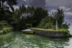 Barque (Didier Mouchet) Tags: bateau thonon lac thononlesbains france rhnealpes laclman landscape lakeofgeneva littoral lman leport hautesavoie 74 didiermouchet d5300 nikond5300 nikon port nuage